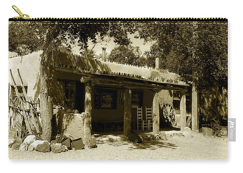 Hacienda Carry-all Pouch featuring the photograph Hacienda by David Lee Thompson