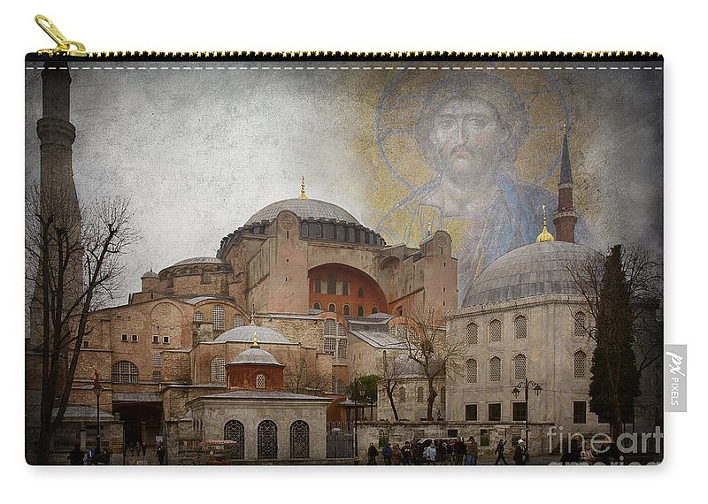 Hagia Sophia Carry-all Pouch featuring the photograph Hagia Sophia by Naoki Takyo