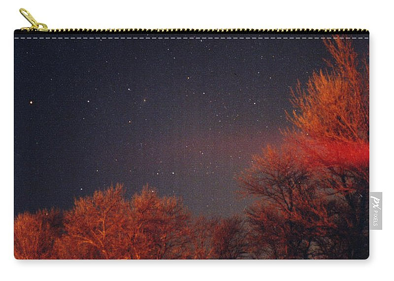 Comet Carry-all Pouch featuring the photograph Hale-bopp Comet by Nancy Mueller