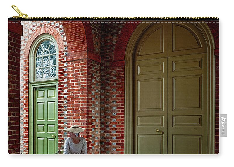 Lady Carry-all Pouch featuring the photograph Half A Rendezvous by Christopher Holmes