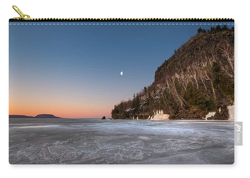 Aboriginal Carry-all Pouch featuring the photograph Half Moon by Jakub Sisak