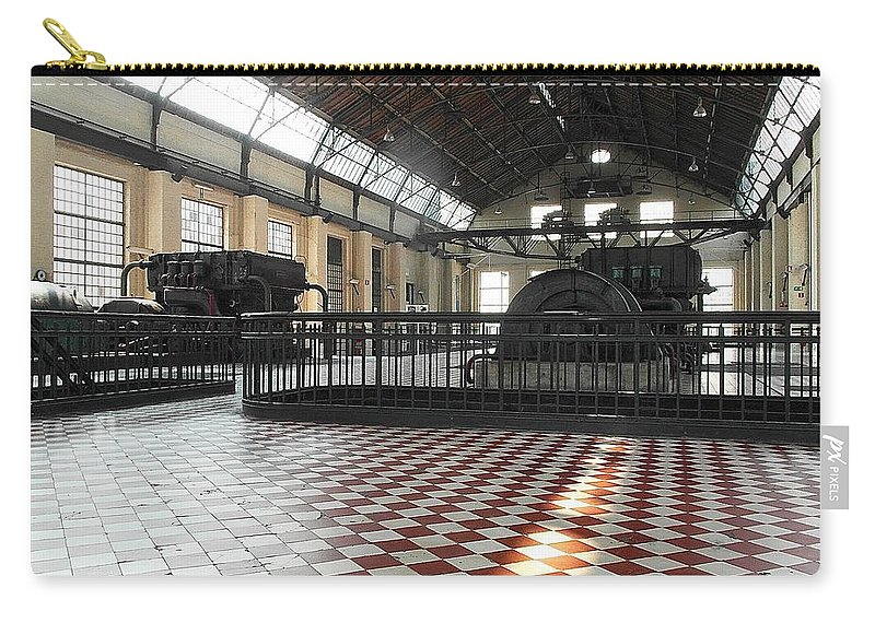 Belgium Carry-all Pouch featuring the photograph Hall by Elisabeth Derichs