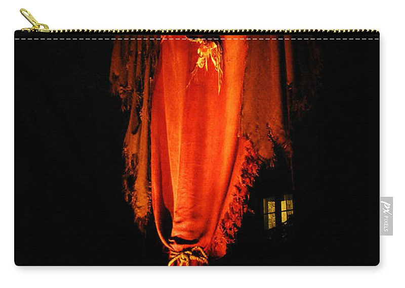 Halloween Carry-all Pouch featuring the digital art Halloween by David Lee Thompson