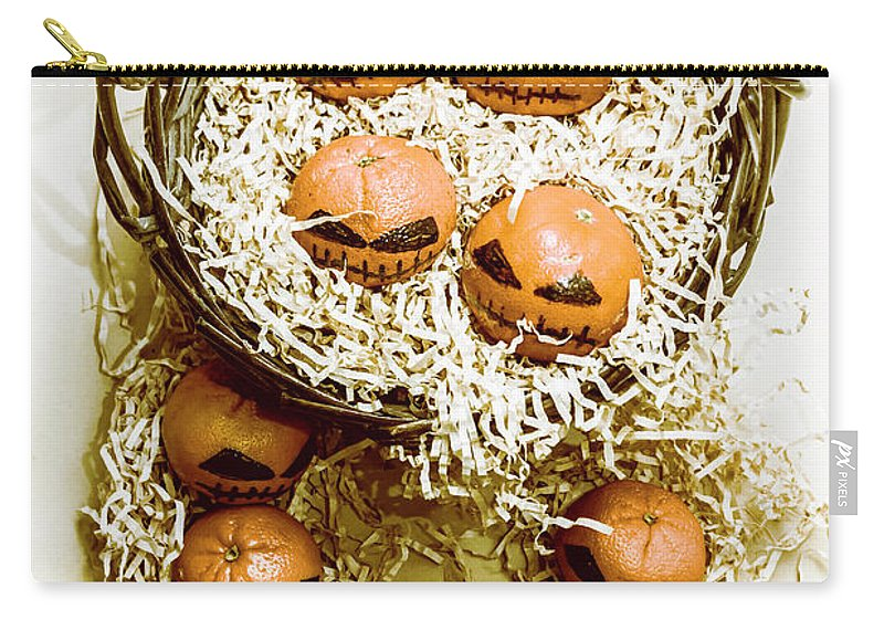 Halloween Carry-all Pouch featuring the photograph Halloween Food Decoration by Jorgo Photography - Wall Art Gallery