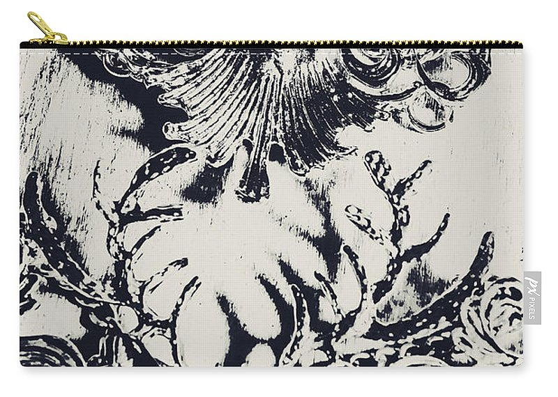 Emblem Carry-all Pouch featuring the photograph Halls Of Horned Art by Jorgo Photography - Wall Art Gallery