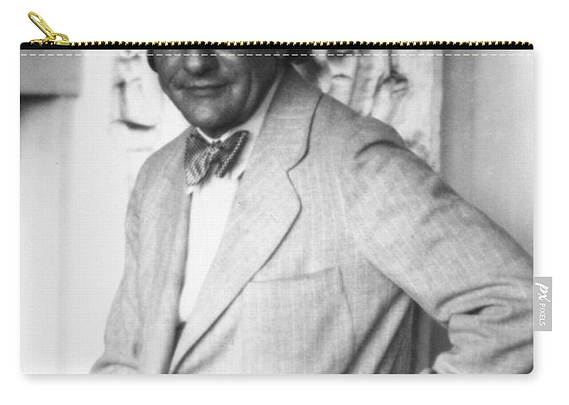 20th Century Carry-all Pouch featuring the photograph Hans Hofmann (1880-1966) by Granger