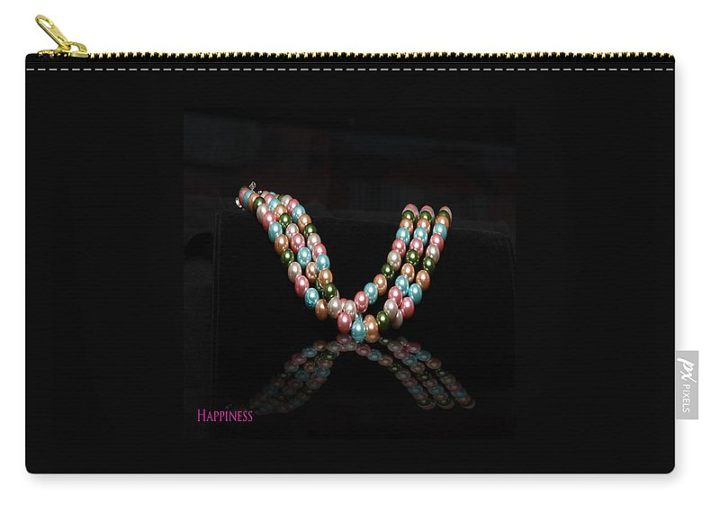 Pearl Jewelry  Jewelry Jewelry Carry-all Pouch featuring the jewelry Happiness by Yael VanGruber