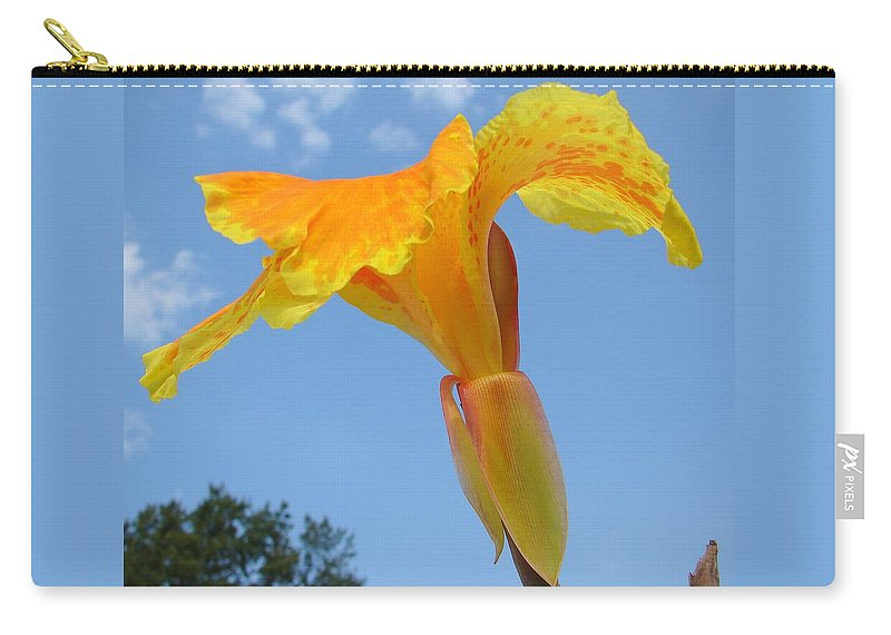 Carry-all Pouch featuring the photograph Happy Canna by Luciana Seymour