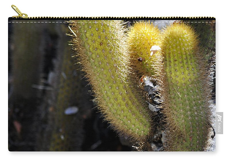 Clay Carry-all Pouch featuring the photograph Happy by Clayton Bruster