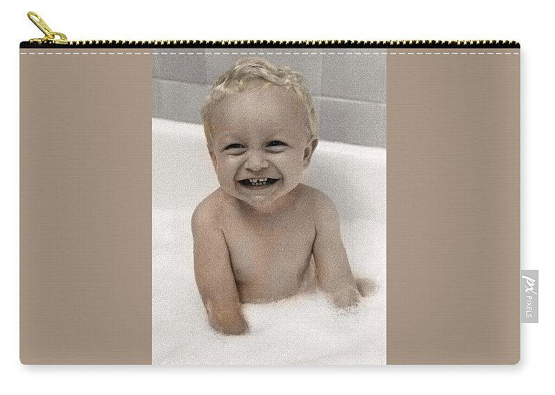 Happy Contest Carry-all Pouch featuring the photograph Happy Contest 14 by Jill Reger