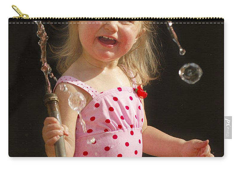 Happy Contest Carry-all Pouch featuring the photograph Happy Contest 2 by Jill Reger