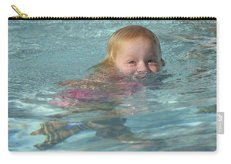 Happy Contest Carry-all Pouch featuring the photograph Happy Contest 4 by Jill Reger