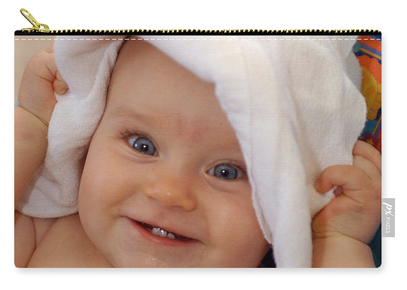 Happy Contest Carry-all Pouch featuring the photograph Happy Contest 7 by Jill Reger