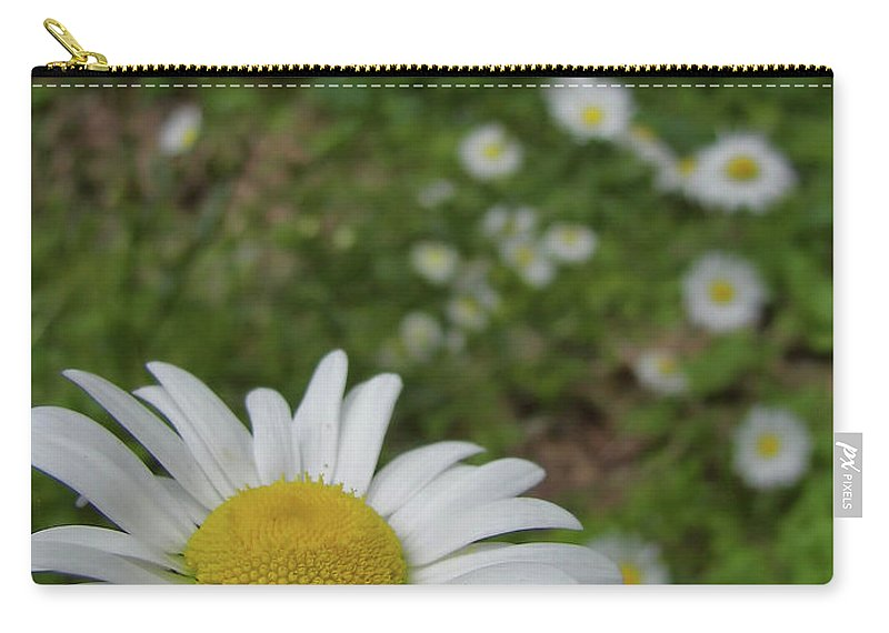 Daisy Carry-all Pouch featuring the photograph Happy Daisy by JAMART Photography