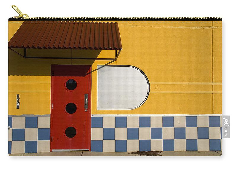 Architecture Carry-all Pouch featuring the photograph Happy Days by Skip Hunt