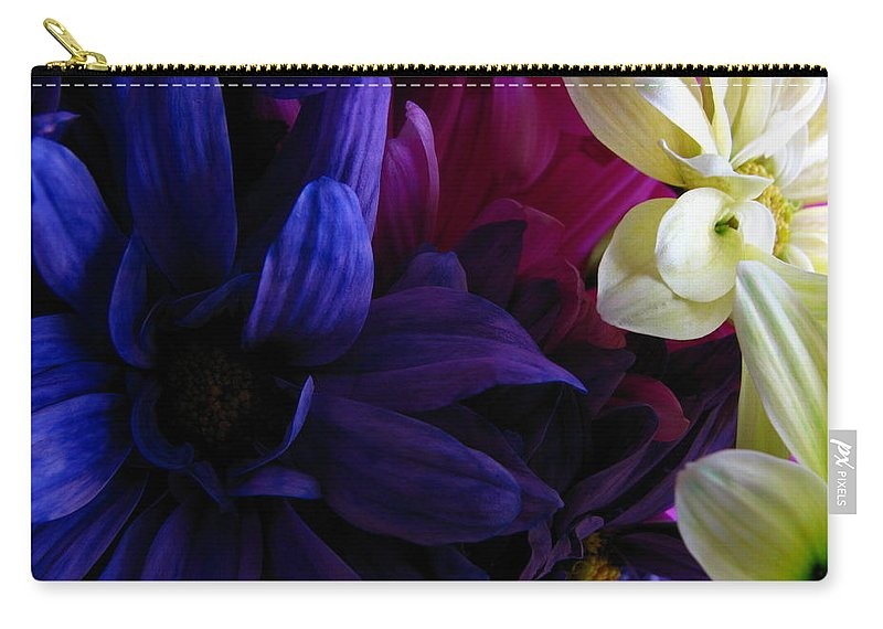 Patzer Carry-all Pouch featuring the photograph Happy Flowers by Greg Patzer