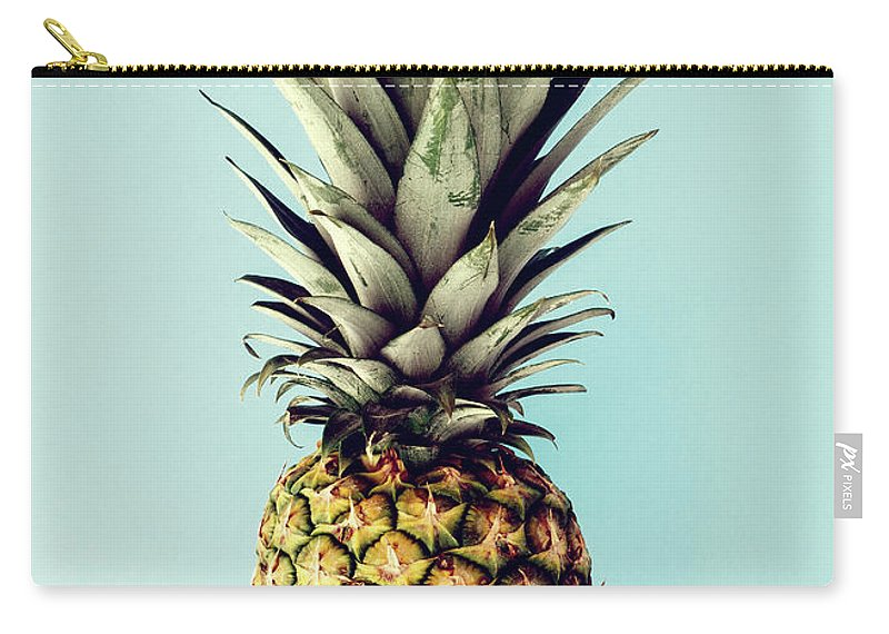 Carry-all Pouch featuring the digital art Happy Pinneaple by Rafael Farias