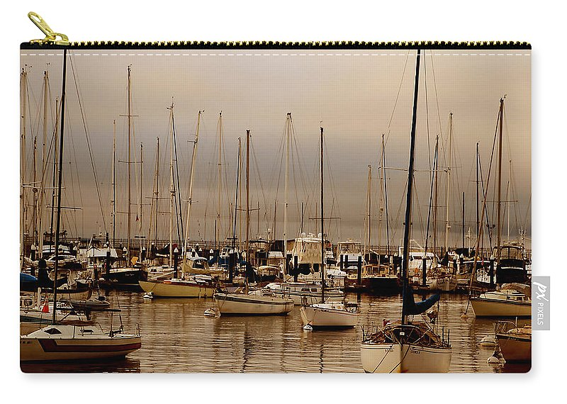 Water Carry-all Pouch featuring the photograph Calm Before The Storm by David Ross
