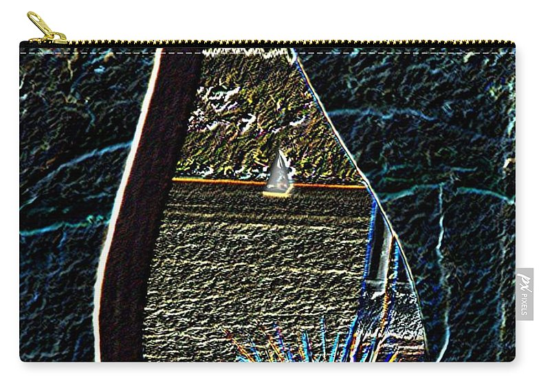 Bremerton Carry-all Pouch featuring the photograph Harborside Fountain Park Bremerton Wa 2 by Tim Allen