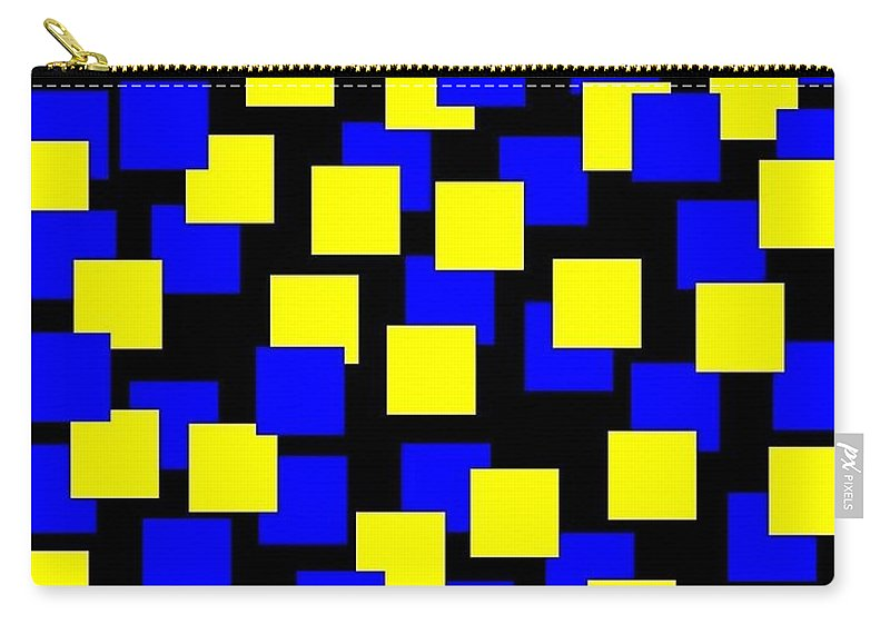 Abstract Carry-all Pouch featuring the digital art Harmony 1 by Will Borden
