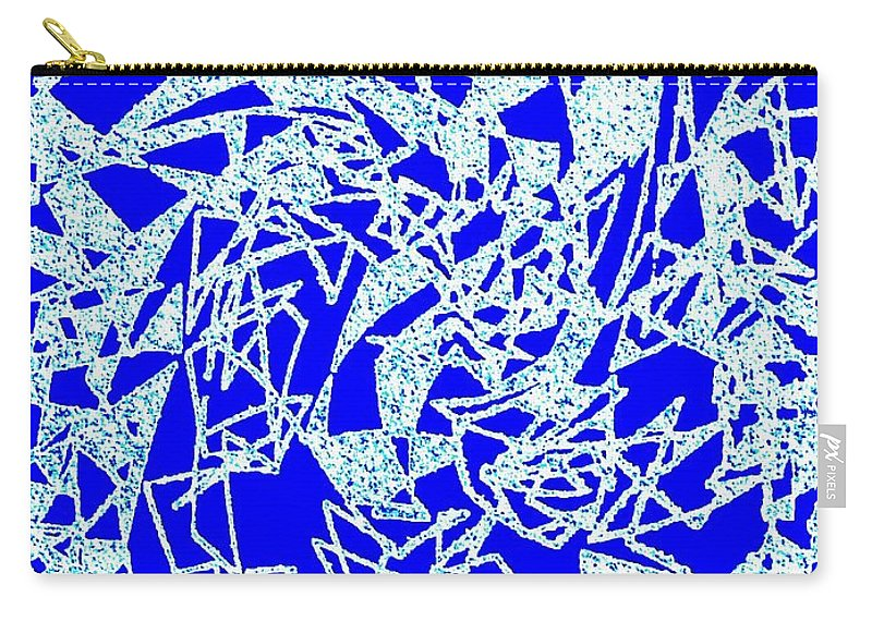 Abstract Carry-all Pouch featuring the digital art Harmony 10 by Will Borden