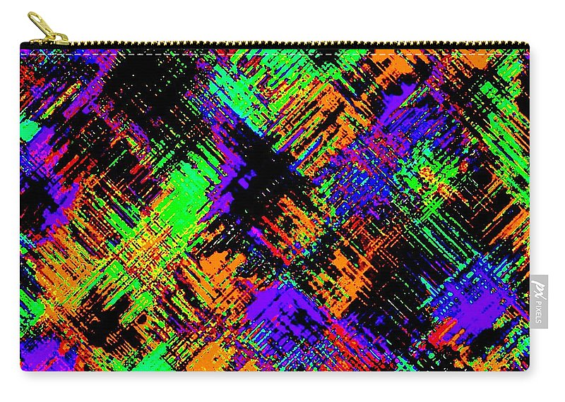 Abstract Carry-all Pouch featuring the digital art Harmony 15 by Will Borden
