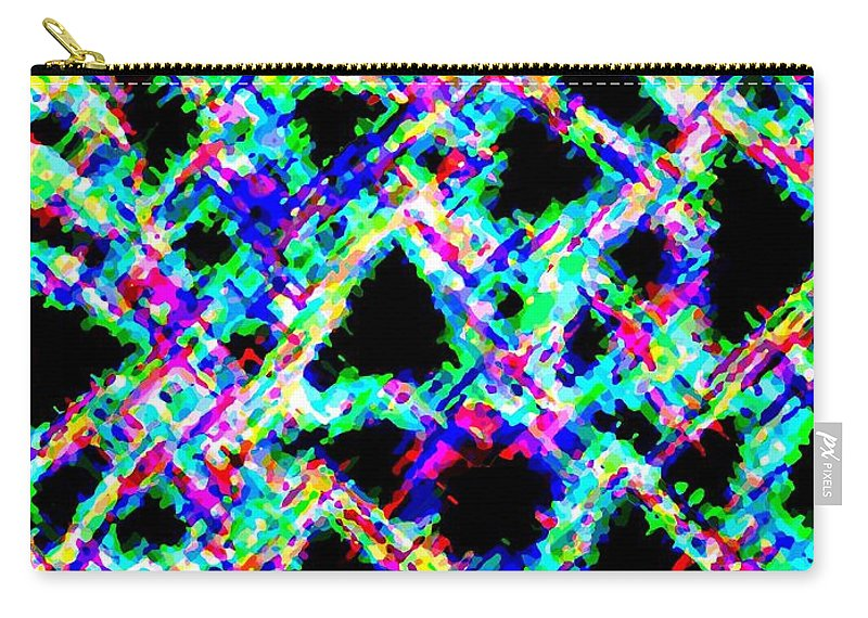 Abstract Carry-all Pouch featuring the digital art Harmony 18 by Will Borden