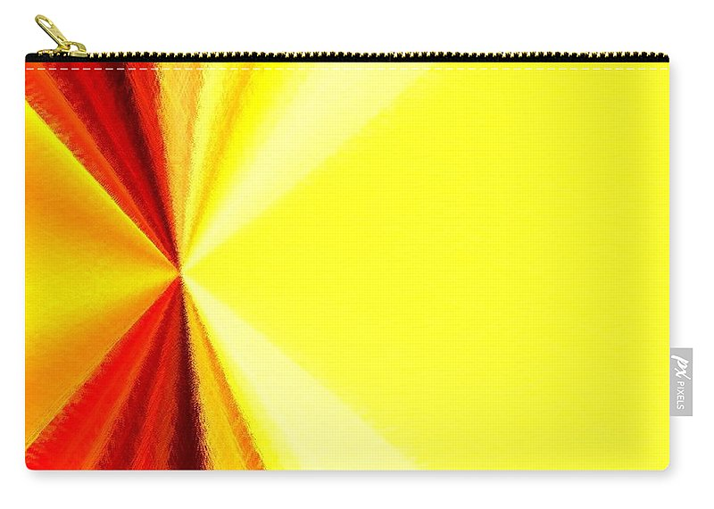 Abstract Carry-all Pouch featuring the digital art Harmony 29 by Will Borden
