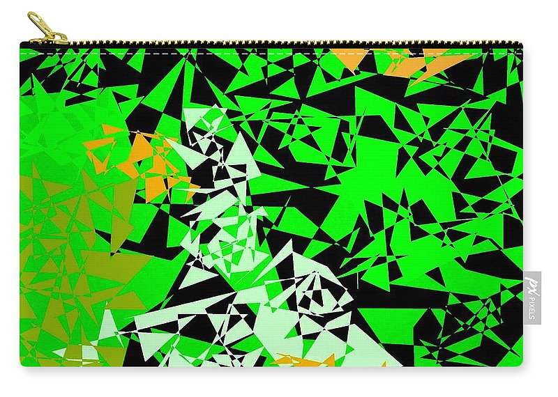 Abstract Carry-all Pouch featuring the digital art Harmony 5 by Will Borden