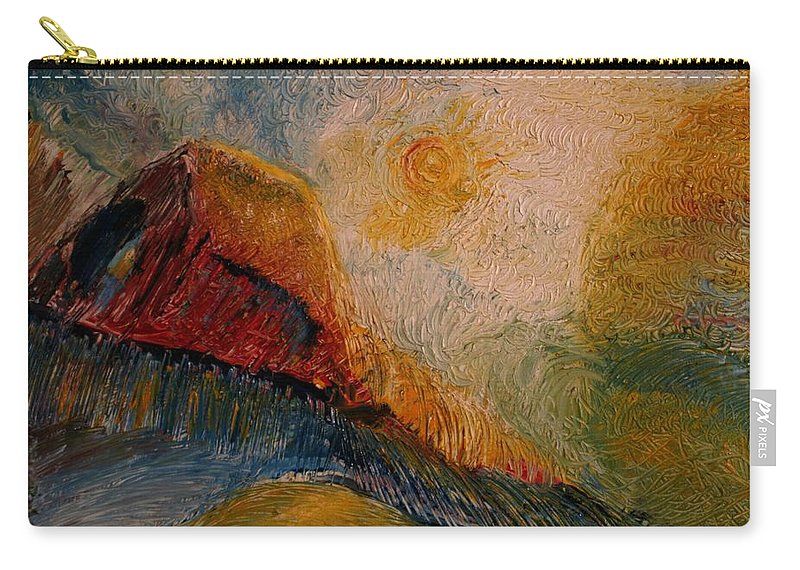 Rede Carry-all Pouch featuring the painting Harvast by Jack Diamond