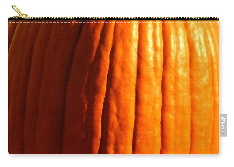Pumpkin Carry-all Pouch featuring the photograph Harvest by Amanda Barcon
