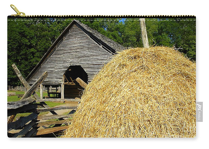 Harvest Carry-all Pouch featuring the photograph Harvest by David Lee Thompson
