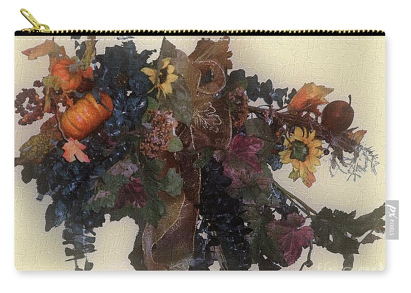 Autumn Carry-all Pouch featuring the painting Harvest Home by RC DeWinter