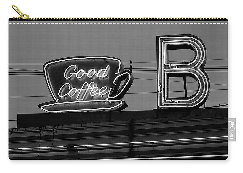 America Carry-all Pouch featuring the photograph Hasbrouck Heights, Nj - Bendix Diner by Frank Romeo