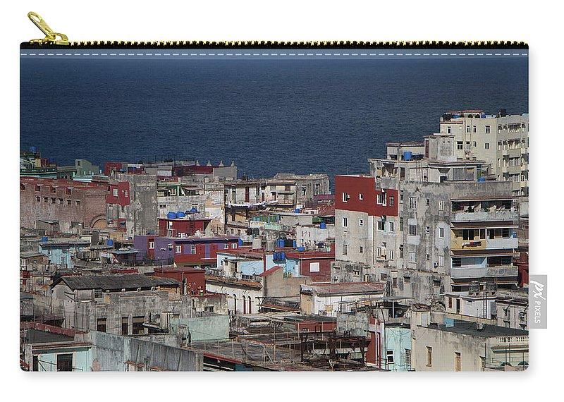 Street Carry-all Pouch featuring the photograph Havana, Cuba by Brigitte Mueller