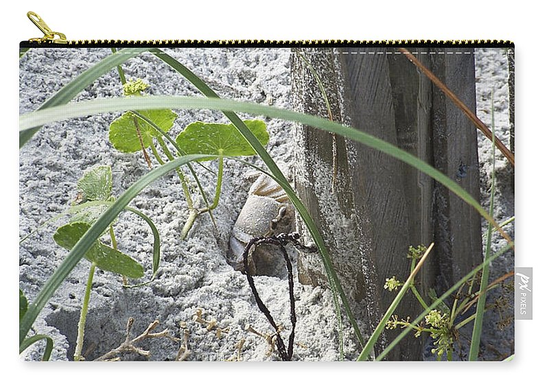 Crab Carry-all Pouch featuring the photograph Have A Crabby Day by Teresa Mucha
