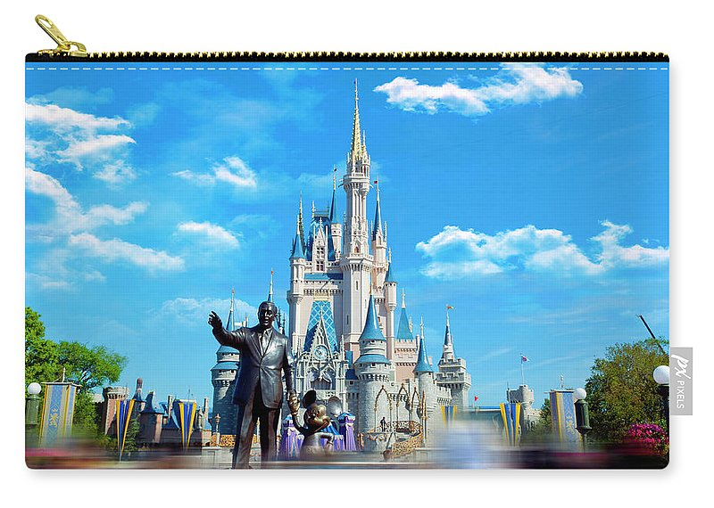 Magic Kingdom. Walt Disney World Carry-all Pouch featuring the photograph Have A Magical Day by Ryan Crane