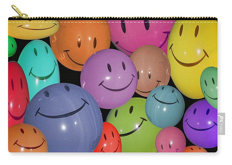 Have A Nice Day Carry-all Pouch featuring the photograph Have A Nice Day by Robert Meanor