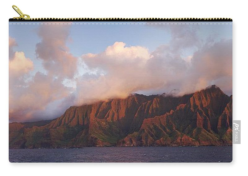 Hawaii Carry-all Pouch featuring the photograph Hawaii by Heather Coen