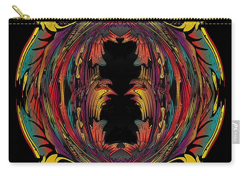 Hawaii Carry-all Pouch featuring the painting Hawaii by Larry Rice