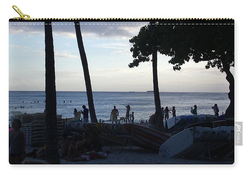Hawaii Carry-all Pouch featuring the photograph Hawaiian Afternoon by Daniel Sauceda