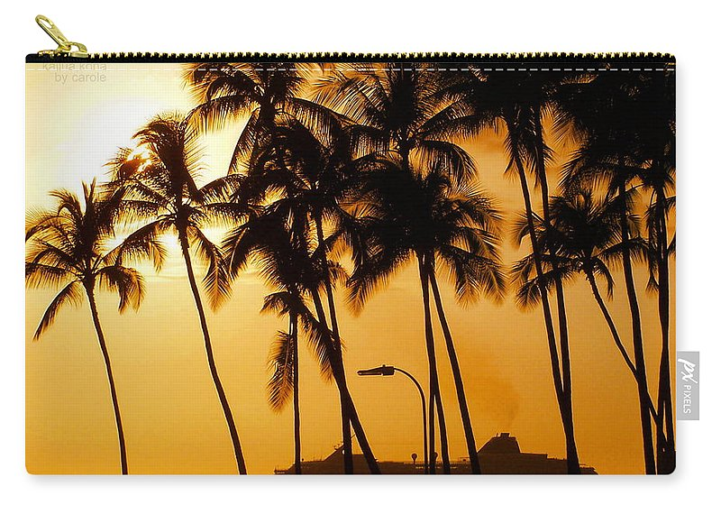 Landscape Carry-all Pouch featuring the photograph Hawaiian Cruise by Athala Carole Bruckner