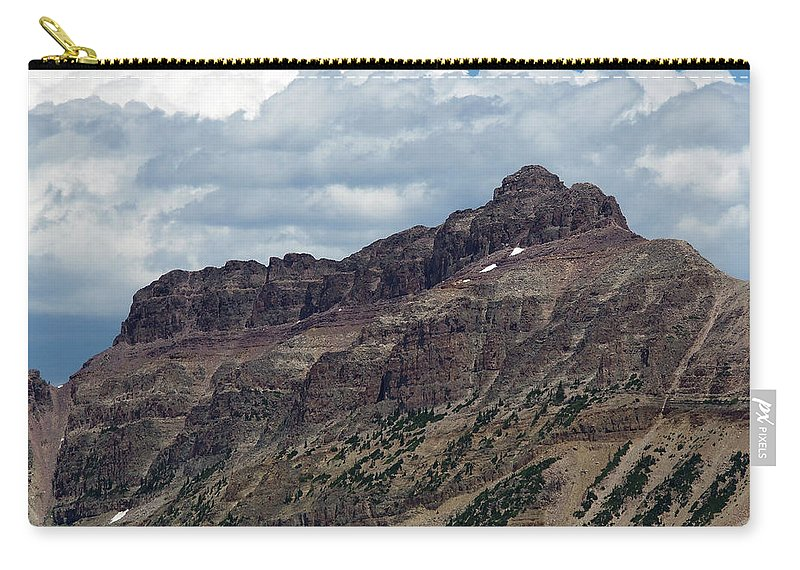 Hayden Peak Carry-all Pouch featuring the photograph Hayden Peak by Julie Tanner