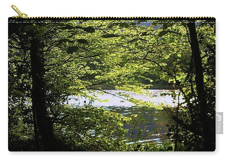 Landscape Carry-all Pouch featuring the photograph Hazelwood Co. Sligo Ireland. by Louise Macarthur Art and Photography