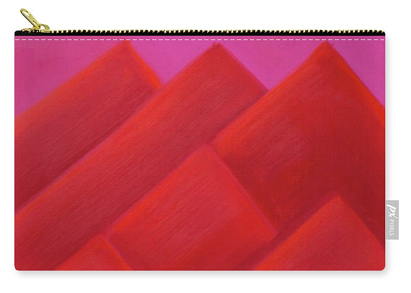 He Tu Carry-all Pouch featuring the painting He Tu Fire by Adamantini Feng shui