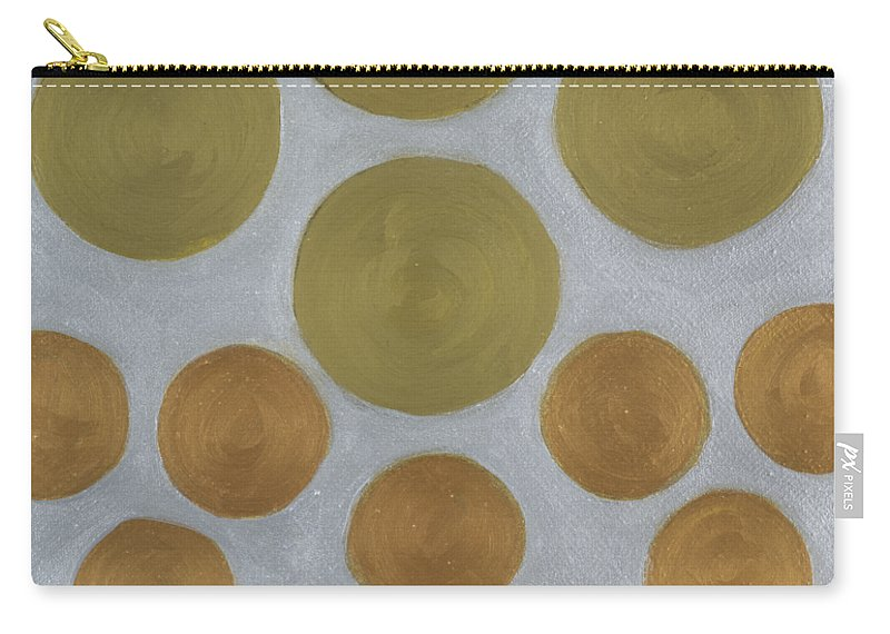 He Tu Carry-all Pouch featuring the painting He Tu Metal Round by Adamantini Feng shui