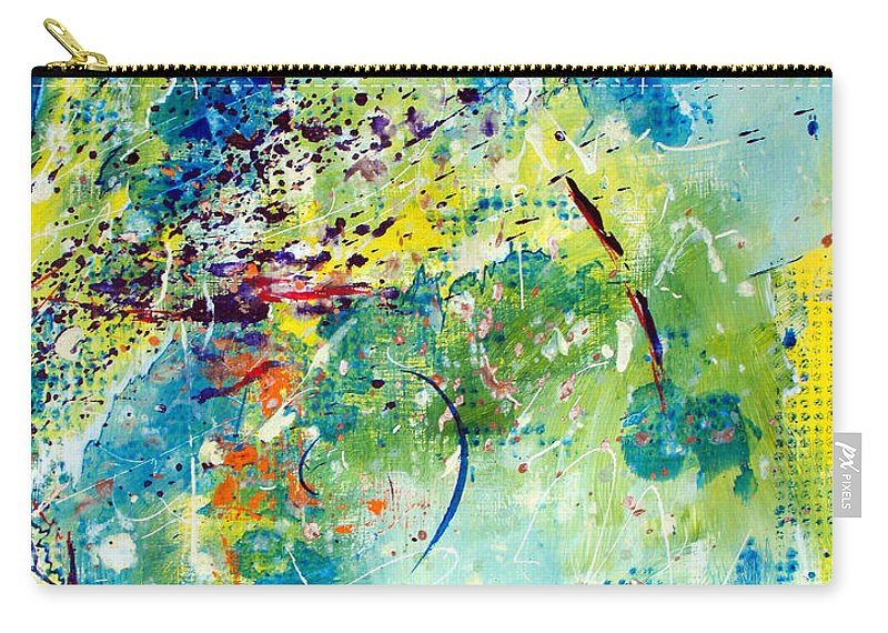 ruth Palmer Carry-all Pouch featuring the painting He Watches Over Me II by Ruth Palmer