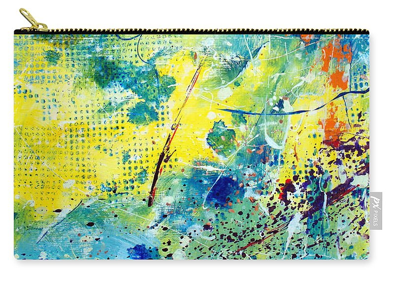 ruth Palmer Carry-all Pouch featuring the painting He Watches Over Me by Ruth Palmer