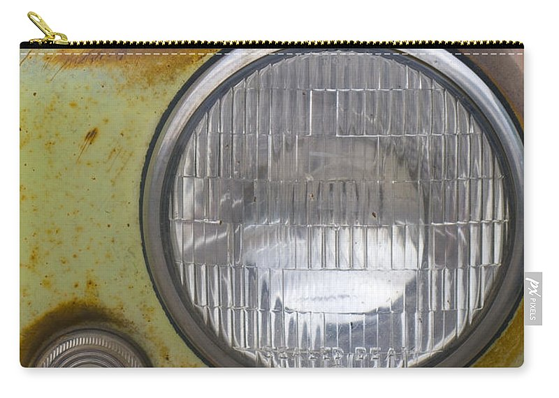Vintage Carry-all Pouch featuring the photograph Head Light by Jeffery Ball