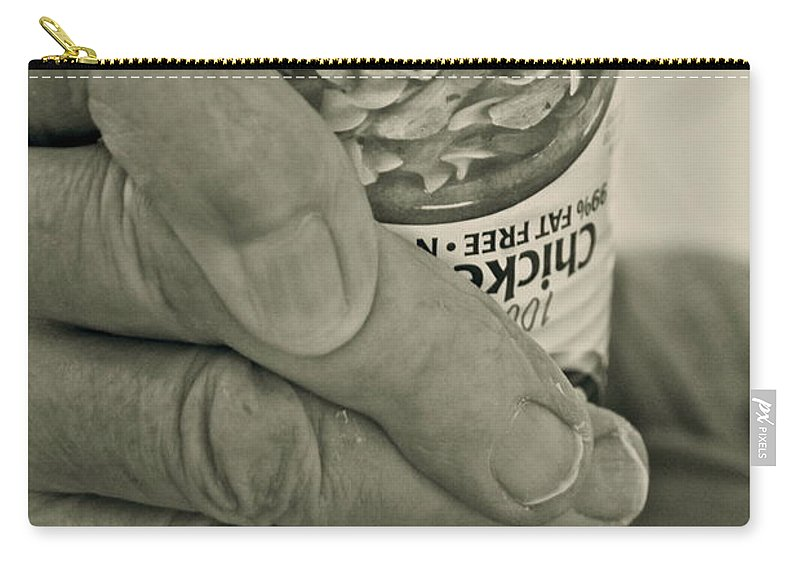 Healthcare Carry-all Pouch featuring the photograph Healthcare In America ... by Gwyn Newcombe